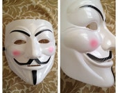 V for Vendetta Guy Fawkes halloween mask