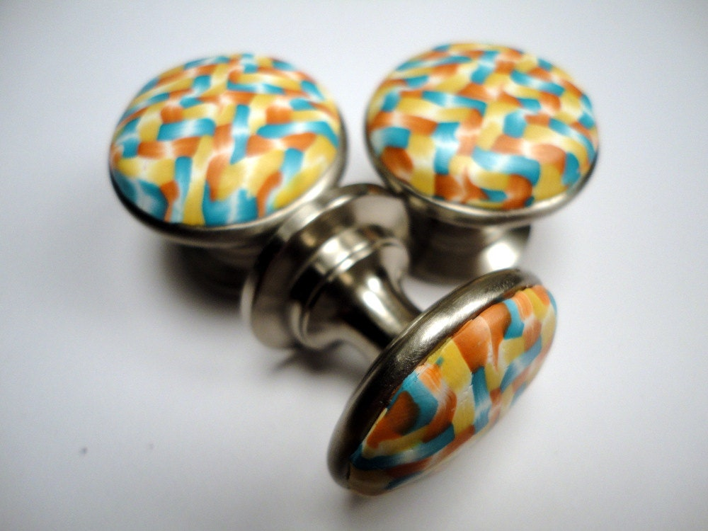 unique cabinet knobs polymer clay cabinet knobs 6 unique handmade decorative metal 27690