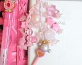Sailor Moon Sailor Plutos Lip Rod  Candy Phone Charm