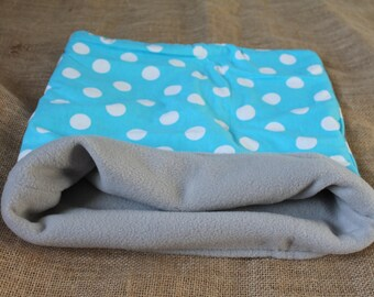 LARGE Polka Dot pouch for small pocket pets.