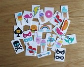 Temporary Tattoo Pack (Unisex)