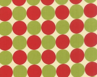 SALE Big dots in red from Neco by Momo for Moda  16135 11
