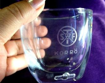 STROMBERG Crystal Award Bowl Theologian SWEDISH Music Festival KORRO