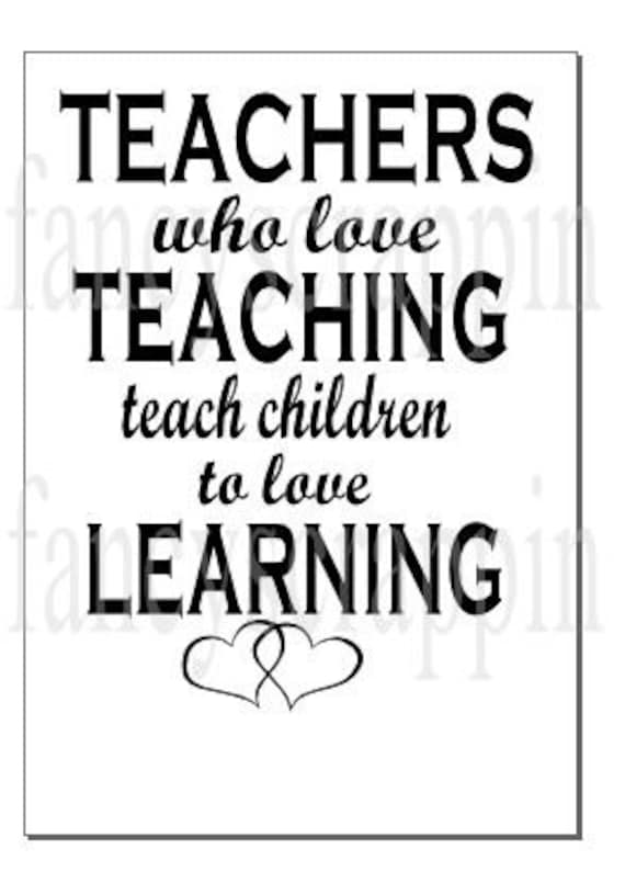 Download Teachers Who Love Teaching SVG Cutting File