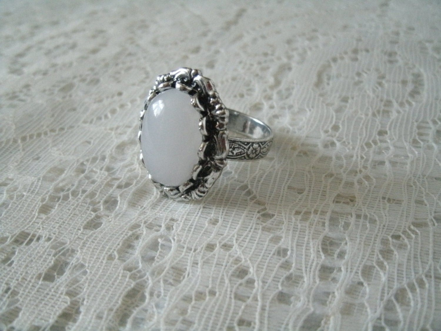 moonstone ring wiccan jewelry pagan jewelry wicca jewelry
