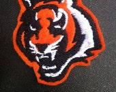 Cincinnati Bengals Cat Applique/Patch/Feltie/Iron on
