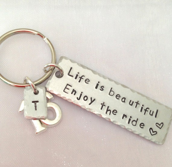 16th Birthday Gift 16th Present 16th Keyring By