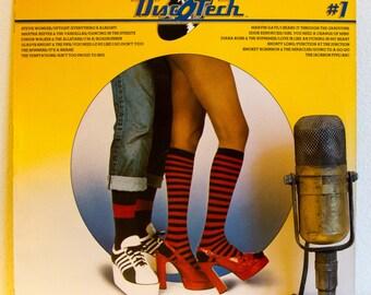 "ON SALE Motown Records Compilation Vinyl Record Album Lp Vintage 1960s Soul Funk Disco Dance Love Songs ""Disc-O-Tech: #1"" (1975 Motown w/""Ab"