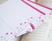 Cherry Blossom Recipe Cards