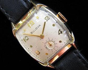 Bulova Watch - Smooth & Clean - c.1953