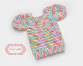 Download Now - CROCHET PATTERN Classic Children's Sweater in 10 different sizes from newborn to twelve years