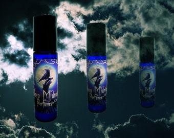 INTO THE AETHER Perfume Oil - Earthy greens, Soft Aquatics, Ozone - Steampunk Perfume