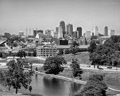 Kansas City Skyline - Fine Art Photograph 5x7 8x10 11x14 16x20 24x30