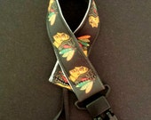 Universal Pacifier holder / soother / blackhawks