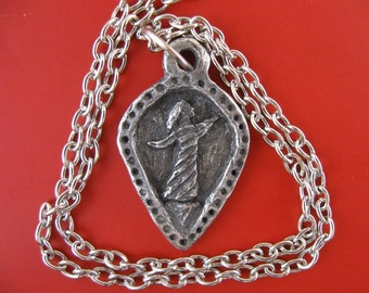 St. Teresa of Avila, Patron of Dancers, Handmade Necklace