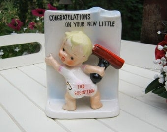 Baby Planter - Tax Exemption - Congratulations on Your New Little One - Oak Hill Vintage