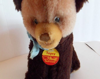 Steiff bear, Tapsy, w.chest/name tag, made in Germany 1266