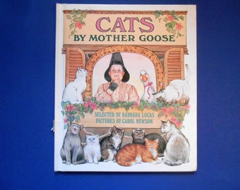 Cats by Mother Goose, a Vintage Children's Book