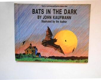 Bats in the Dark, a Vintage Children's Science Book