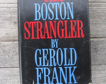 the boston strangler hardcover gerold franks 1966 mid century true crime drama