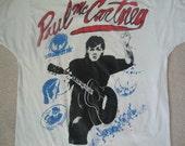 Vintage 90's 1993 PAUL McCARTNEY the beatles concert tour giants veterans stadium rare T shirt L