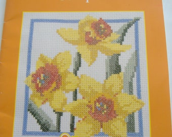 Flower of the Month Cross Stitch Designs