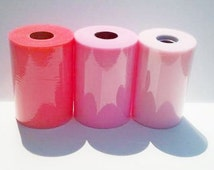 3 Large Tulle Rolls, 100 Yard Tulle Rolls, Select Colors You Wish, Tulle For Tutu, Pink Tulle, Tulle Roll, Decorating Bridal Tulle