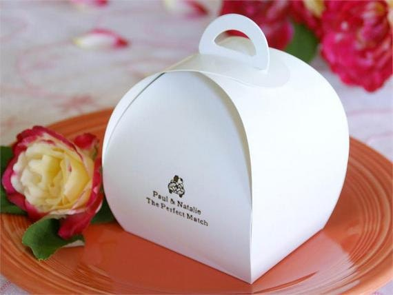 wedding cake boxes for guests 100 personalized favor boxes bulk wedding favor boxes 8577