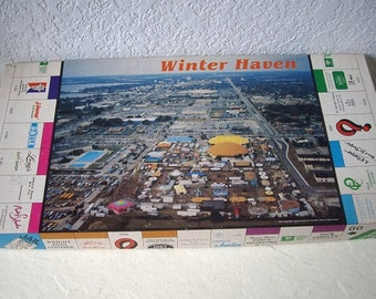 Game: Monopoly Game, Special Novelty featuring Winter Haven, Florida, 1985. Complete