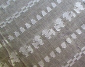 Guatemalan Fabric Coban White
