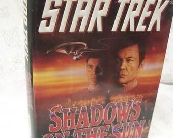 Shadows On The Sun By Michael Jan Friedman 1993 HB Star Trek