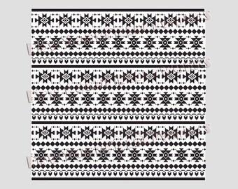 Aztec Cross Stitch Pillow Design, Pillow Cross Stitch Pattern, Aztec Design, Modern Cross Stitch, Cross Stitch for Pillow NewYorkNeedleworks