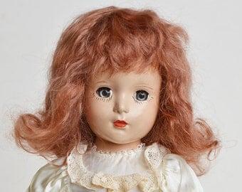 """Vogue Strung Bride 14"""" Hard Plastic Doll"""