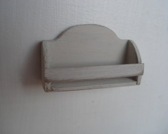 Miniature shelves