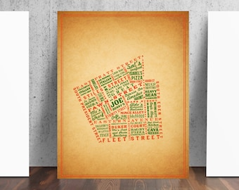 Little Italy Baltimore Maryland Print