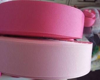 1.5 inch width grosgain ribbon-pinks