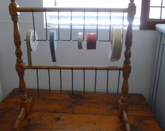 Antique Ribbon Holder/Table Top Display Stand