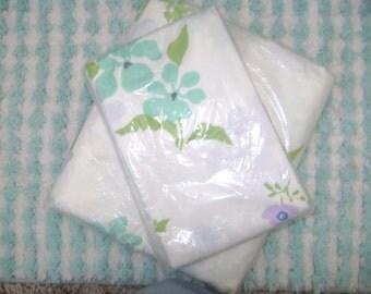Beautiful April Fantasy Perma Prest Percale Pillowcases and Full Flat Sheet set