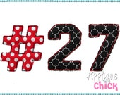 Varsity Bean Numbers Font Instant Download