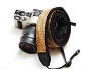 Ready to ship -  Best camera strap for DSLR - Desert flower