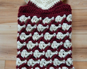 Crochet Pattern, With All My Heart Preemie or American Girl Doll sized Dress