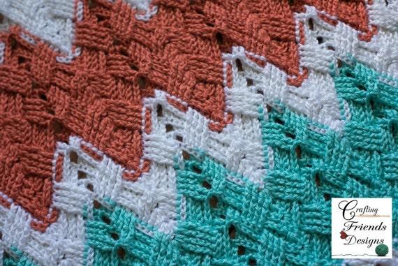 Basket Weave Afghan Crochet Pattern : Crochet Pattern Basket Weave Chevron Afghan Photography