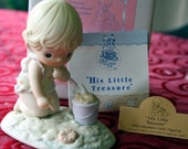 "1993 Precious Moments Members Only ""His Little Treasure"""