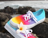 SALE The Original Custom Tie dye Vans shoes ready to ship