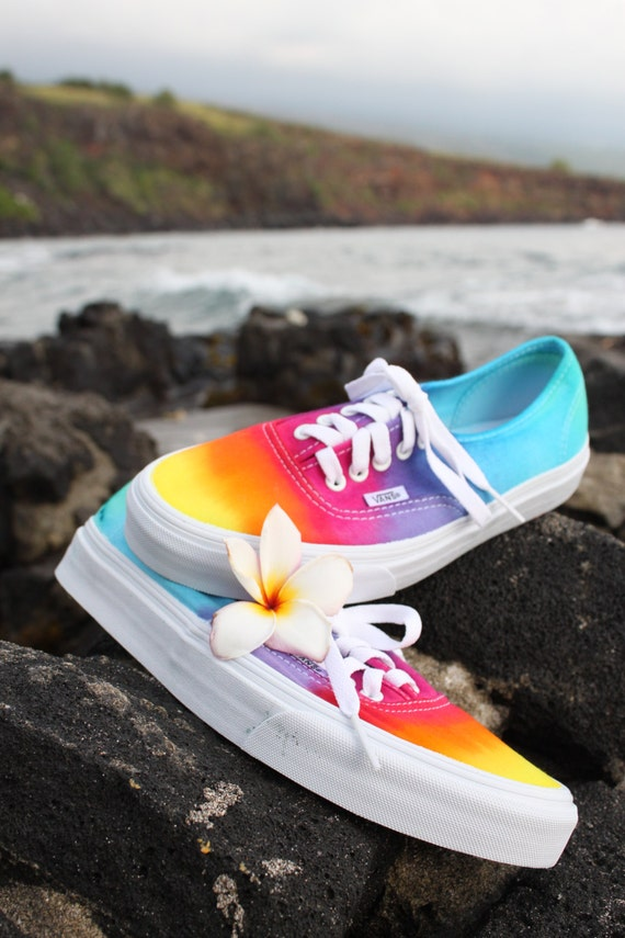 SALE The Original Custom Tie dye Vans shoes