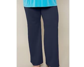 Ponte Straight Leg Pants Misses & Plus Sizes 2-28