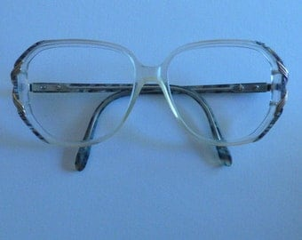 Vintage Funky Women's Eyeware From the 70s Large Lens Area
