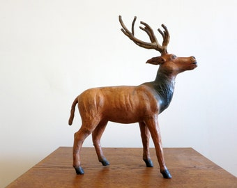 Vintage Deer Sculpture