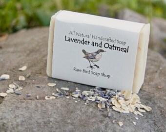 Lavender & Oatmeal Soap