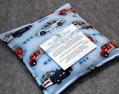 Corn Heating Pad Microwaveable -- Fire Trucks and Police Cars, Child Snuggler 9x9 - LAST ONE